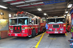 FDNY Ladder 84 and Engine 164