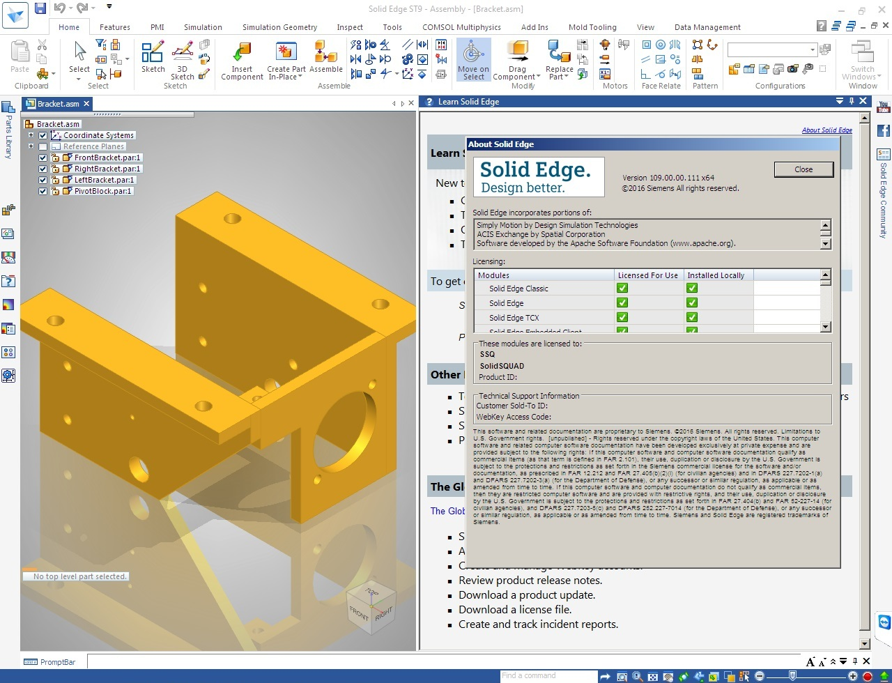 Design with Siemens Solid Edge ST9 Multilang x64 full