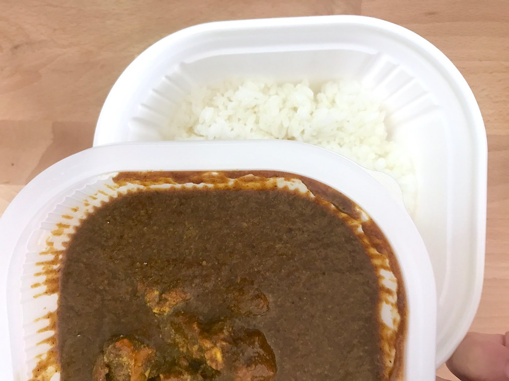 Beef Cury at 7-11 Thai - Curry Sauce and Rice