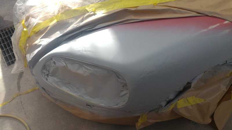 Citroen DS crash repair, pt 5
