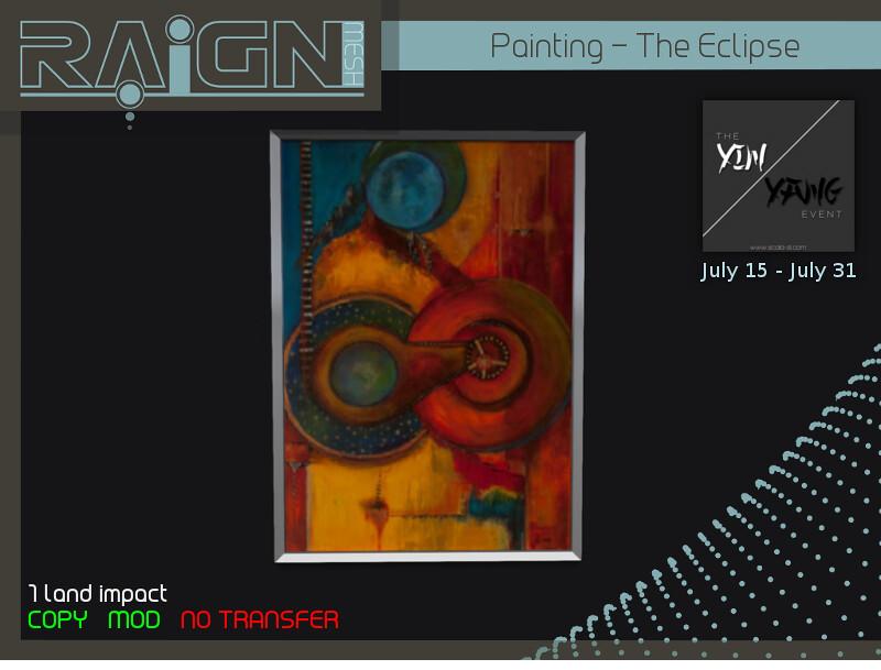YIN/YANG EXCLUSIVE - SecondLifeHub.com