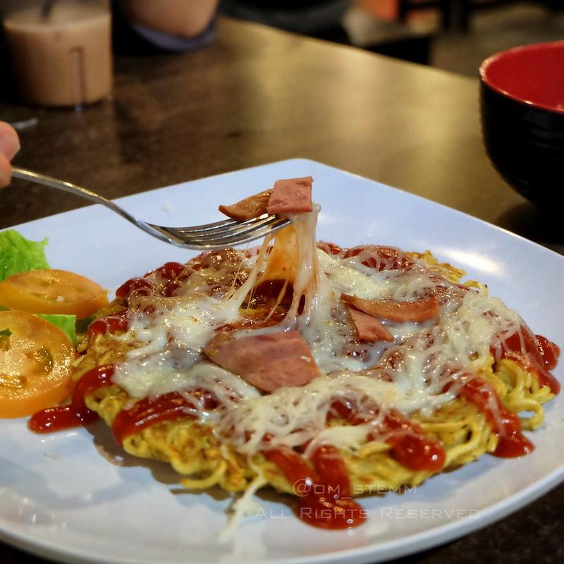 Pizza Mie Mozzarella