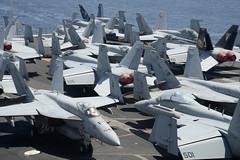 Supercarrier of Partnership: Israeli PM Netanyahu visits USS George H. W. Bush