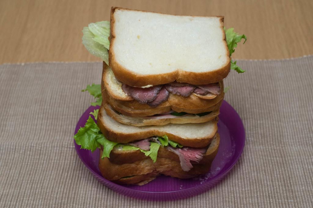 サンドイッチ作ってみた