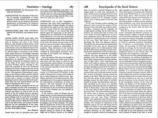 Astrology pg. 1