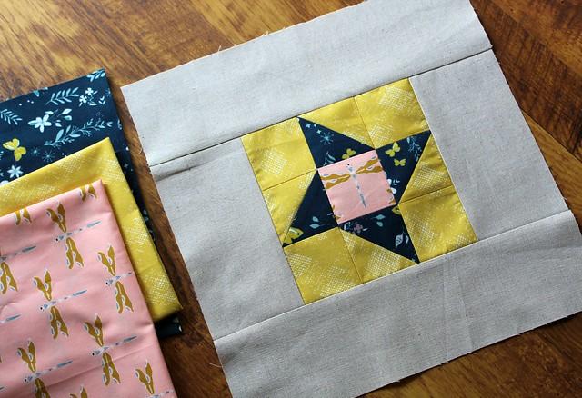 Week 23 Block & Fabrics