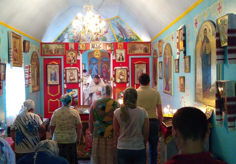 Божественна літургія та молебень з водосвяттям в Різдво Іоана Предтечі 7 липня 2017 року