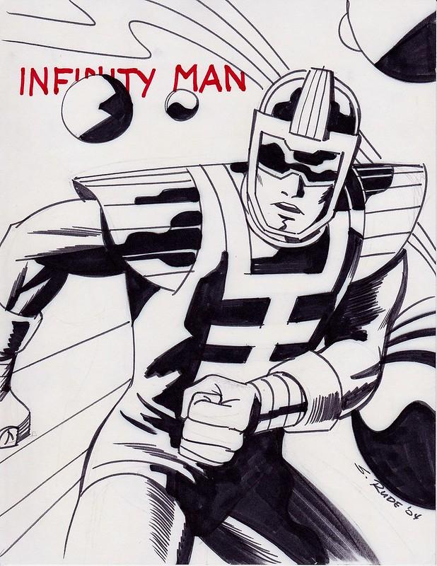 Infinity Man by Steve Rude