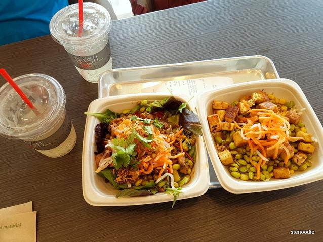 Basil Box food and drinks