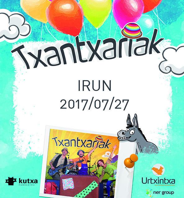 Txantxariak Irun 2017/07/27