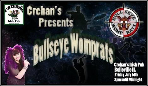 Bullseye Womprats 7-14-17