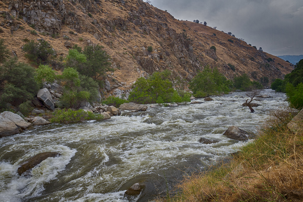 Kern River Rapids along Canyon Floor