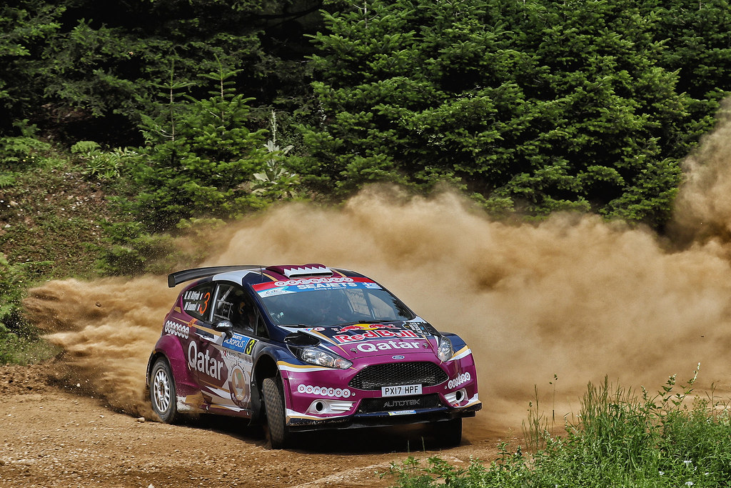 03 AL ATTIYAH Nasser (qat) and BAUMEL Matthieu (fra) action during the European Rally Championship 2017 - Acropolis Rally Of Grece - Loutraki From June 2 to 4 in Loutraki - Photo Gregory Lenormand / DPPI