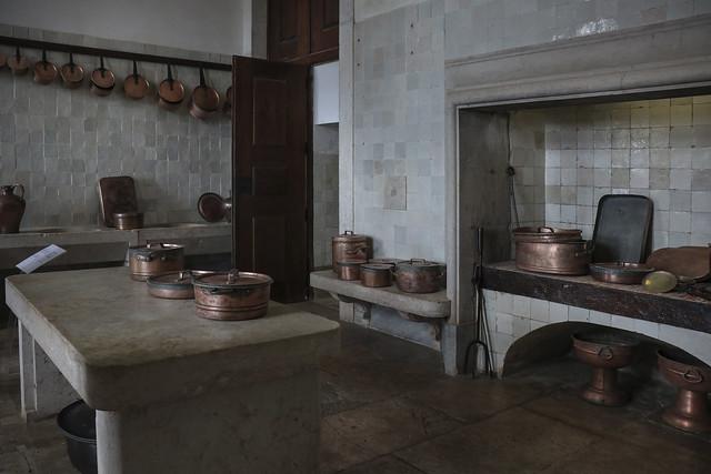 Convent kitchen - Palácio Nacional de Mafra