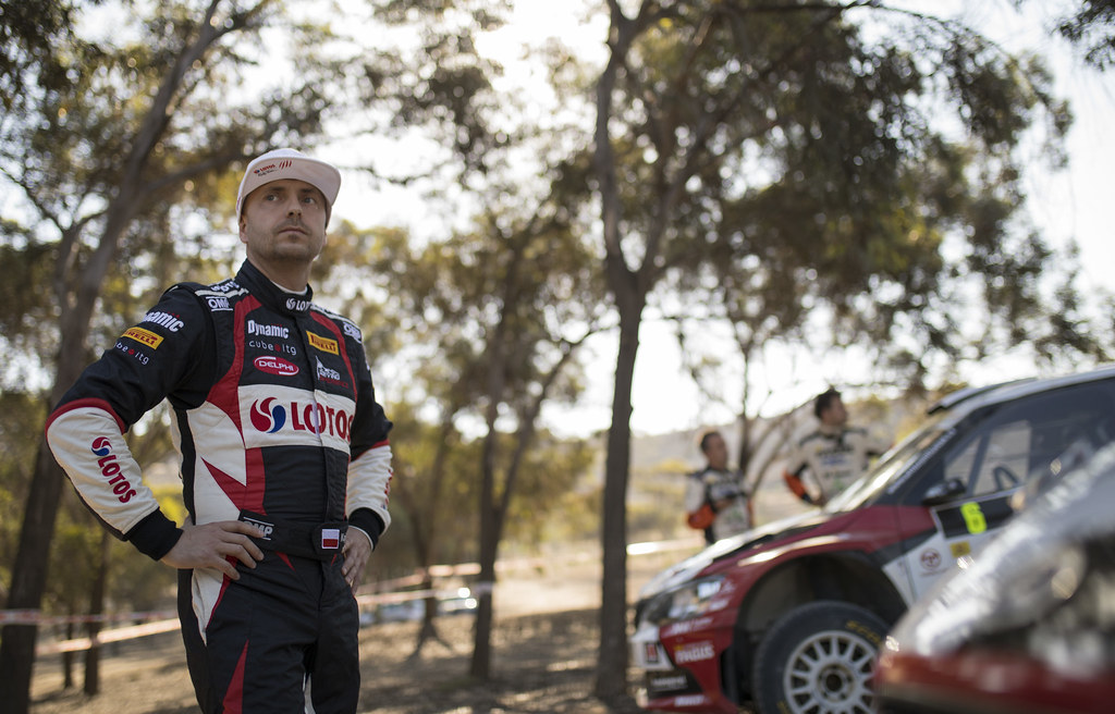 KAJETANOWICZ Kajetan (pol) LOTOS RALLY TEAM FORD FIESTA R5 ambiance portrait during the 2017 European Rally Championship ERC Cyprus Rally,  from june 16 to 18  at Nicosie, Cyprus - Photo Gregory Lenormand / DPPI