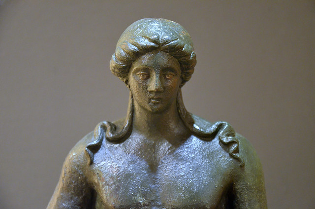 Bronze statue of Apollo, 1st - 2nd century AD, found in Speyer, Historical Museum of the Palatinate, Speyer, Germany