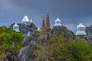 Wat Chalermprakiat mountain temple