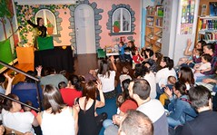 Festa final dos Bebencontros 2017, na Biblioteca Infantil e Xuvenil de Durán Loriga
