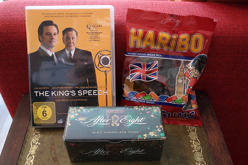 "Wine Gums und After Eight zum Film ""The King's Speech"""