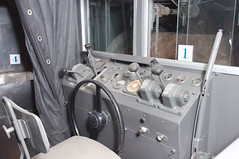 Intérieur du camion Schlumberger