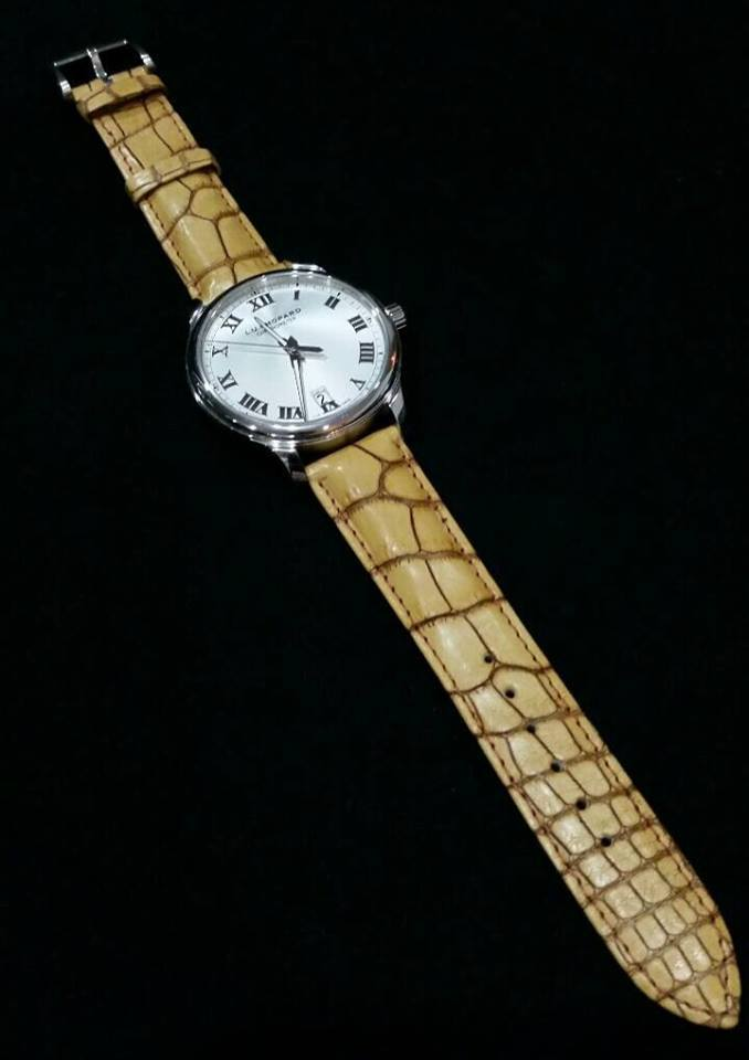 Chopard LUC on Hand Rubbed Aged Gold LVMH Lousiana