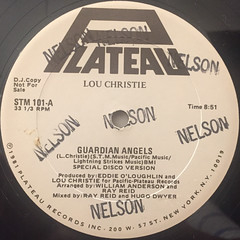 LOU CHRISTIE:GUARDIAN ANGELS(LABEL SIDE-A)