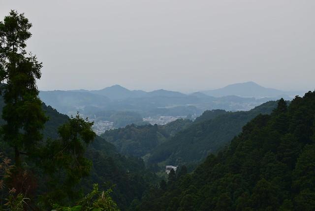 壺阪寺から