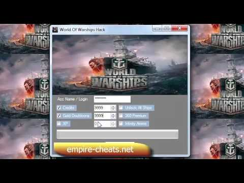 World of Warships Hack Download - Updated 2017 - Get Unlim