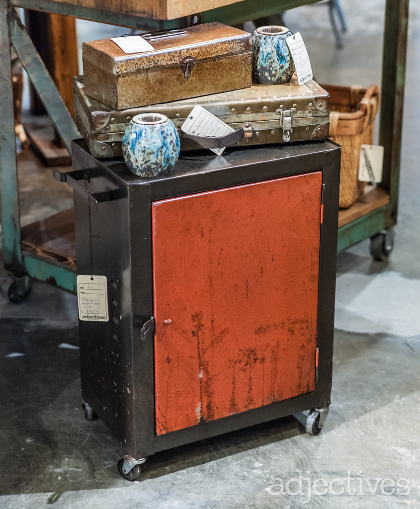 Vintage metal tool box in Altamonte by 510 Decor