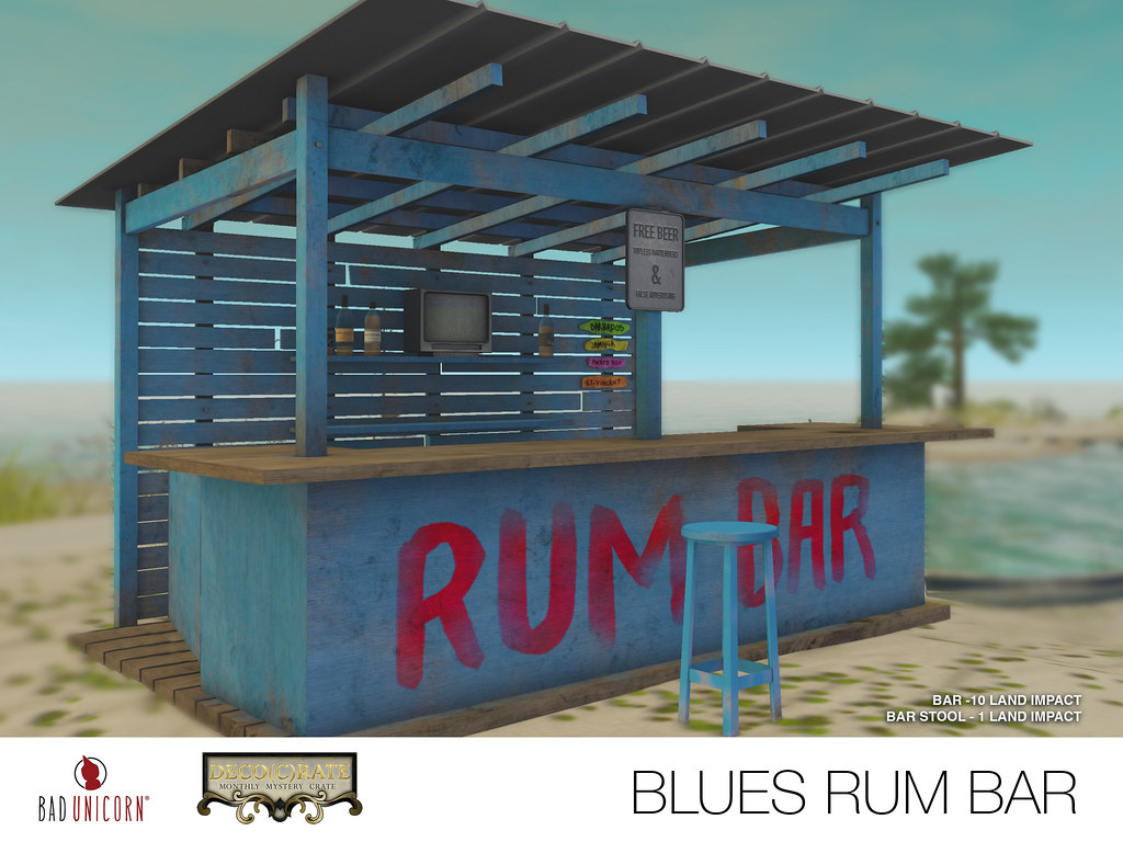NEW! Blues Rum Bar in Deco(c)rate - SecondLifeHub.com