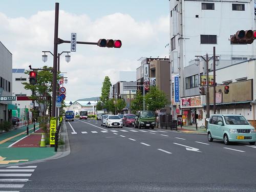 石巻:駅前大通り