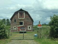 The Barn Under the Trestle
