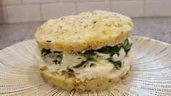 Katep/Paleo Egg Muffin with Spinach