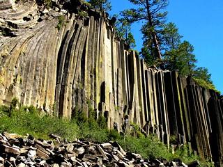 Devil's Postpile National Monument, California