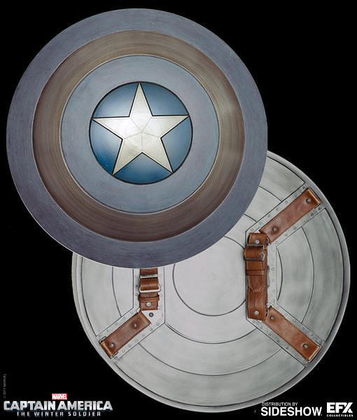 與電影裡的盾牌相同模具製作!!EFX Collectibles 美國隊長2:酷寒戰士【匿蹤盾牌】1:1 複製品 Captain America  Stealth Shield Prop Replica
