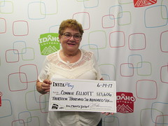 Connie Elliott - $13,606 - Big Money Jackpot - Moscow - Safeway #383