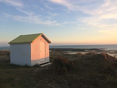 Beach hut in the dunes - Photo of La Vendelée
