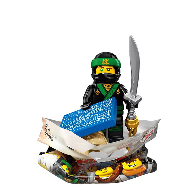 The LEGO Ninjago Movie 71019 Collectible Minifigures 2