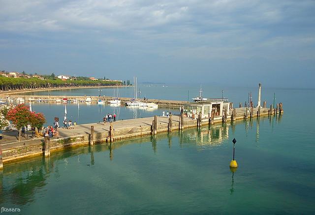 Peschiera del Garda, wharf