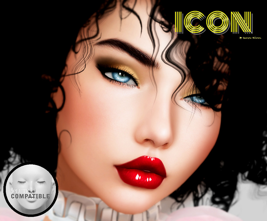 ICON - Tintable eyeshadow for Lelutka - SecondLifeHub.com