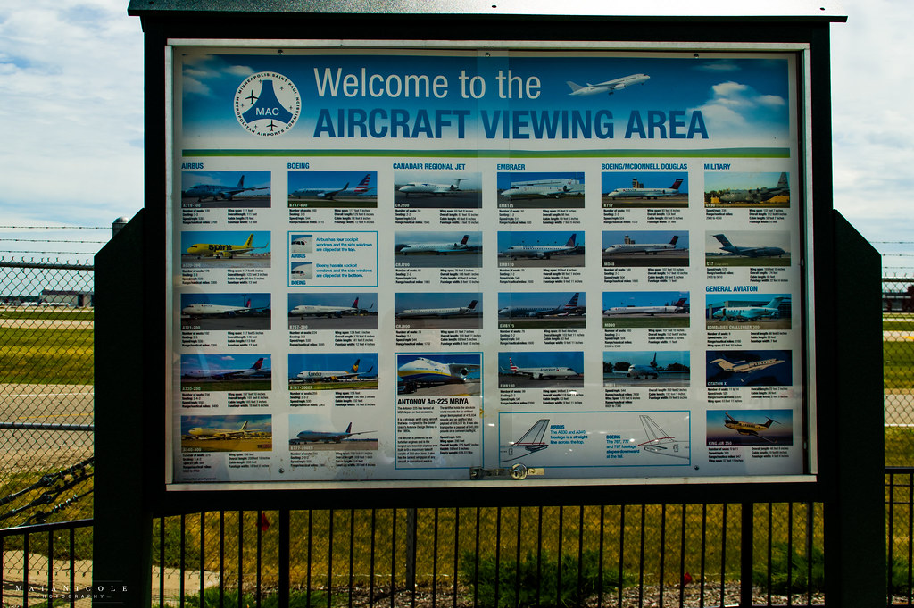 MSP airport Viewing area