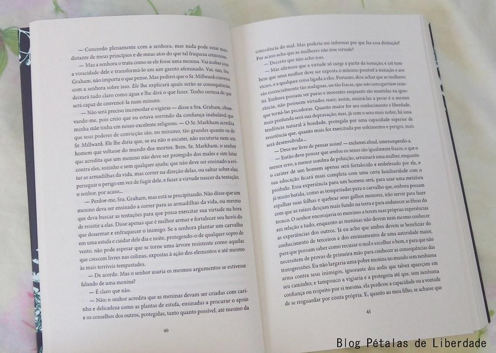 Resenha, livro, A-Senhora-de-Wildfell-Hall, Anne-Brontë, Editora-Record, texto-integral, opiniao, critica, resumo, seculo-dezenove, escritoras-inglesas, clássico, romance-de-epoca, diagramação, trecho, citação, foto, imagem