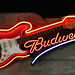 Bud Neon Sign in Texas