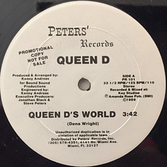 QUEEN D:QUEEN D'S WORLD(LABEL SIDE-A)