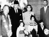 Chinese Premier Chou En Lai and Defense Minister Chen Yi with President Ayub Khan his son in law Miangul Aurangzeb and grandchildren