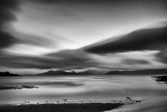 Isle of Skye from Sand Beach Applecross