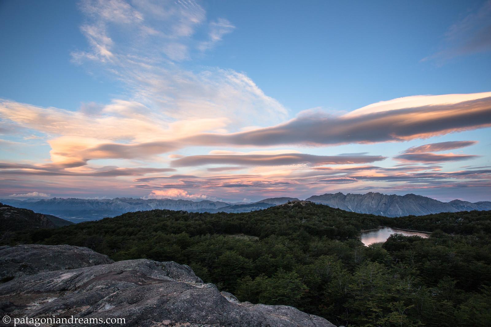 Patagonian skies. Comarca Andina del Paralelo 42. Rio Negro. Patagonia. Argentina.