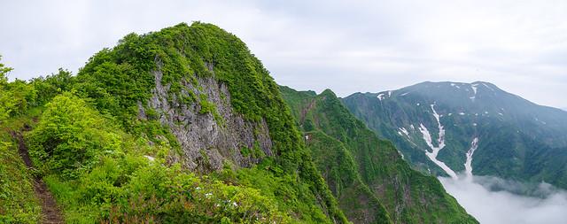 南岳と浅草岳