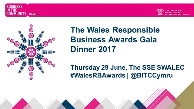 The #WalesRBAwards Gala Dinner 2017