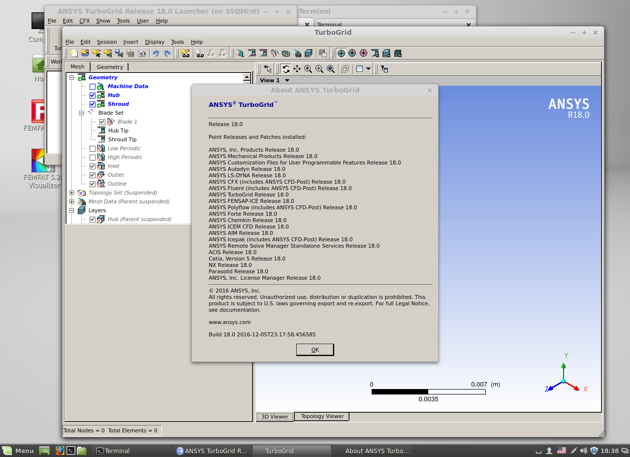 Working with ANSYS Products 18.0 Linux64 full license